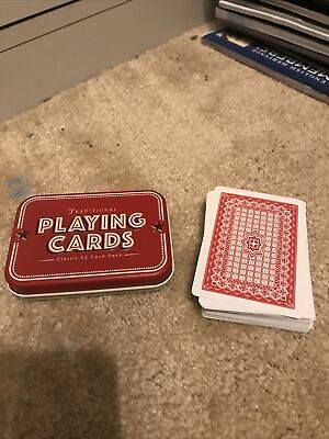 £4.99 • Buy Playing Card Set With Tin