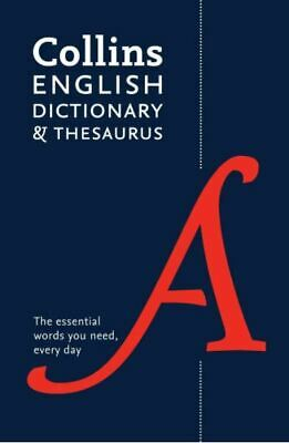 £5.76 • Buy Collins English Dictionary And Thesaurus, , New Book