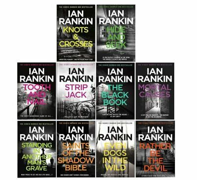 £22.96 • Buy Ian Rankin A Rebus Novel Series Collection 10 Books Set (Even Dogs In Wild, Toot