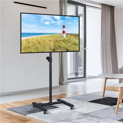 £35.99 • Buy TV Floor Stand Height Adjustable TV Stand For 13-42 In LED LCD Plasma Screens