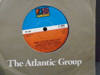£1 • Buy Roberta Flack & Donny Hathaway   Where Is The Love    Ex+ Cond.