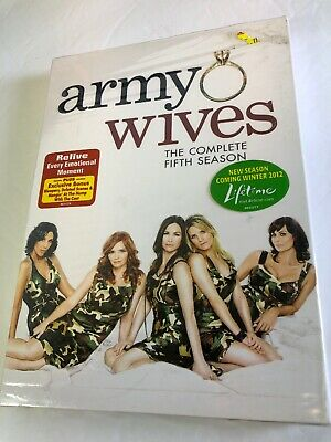 £9.81 • Buy NEW Army Wives: The Complete Fifth Season DVD 2011 3-Disc Set Widescreen SEALED