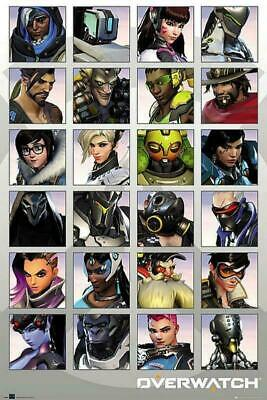 AU13.16 • Buy Overwatch : Character Portraits - Maxi Poster 61cm X 91.5cm New And Sealed