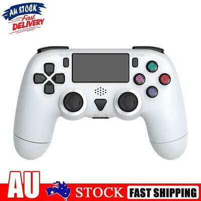 AU39.09 • Buy Wireless Controller For PS4 Pro Slim Dual Motor Vibration 6-Axis Gyro White