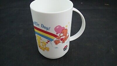 £4.67 • Buy Vintage 1985 Care Bears Pizza Hut Plastic Mug, Have A Bear-ific Day!