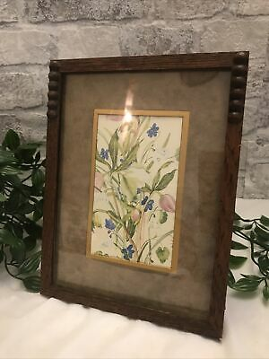 £13.95 • Buy ART DECO Wooden Picture Frame, Lovely Details To Edges, Beautiful 1930s 40s