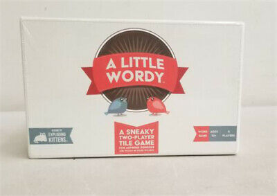 AU20.51 • Buy A Little Wordy Game By Exploding Kittens - NEW / Sealed