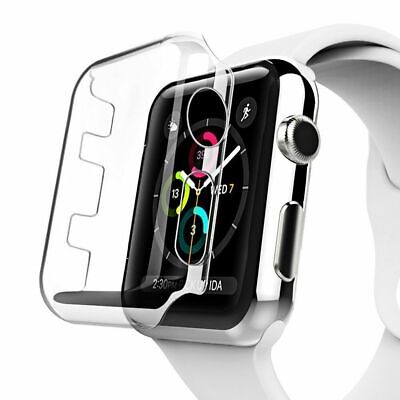 AU4.98 • Buy For Apple Watch IWatch Series SE 6 5 4 3 2 1 Case Full PC Cover 38 40 42 44mm