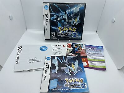 $59.99 • Buy Pokemon Black 2 Nintendo DS Authentic Case Manual Inserts Only
