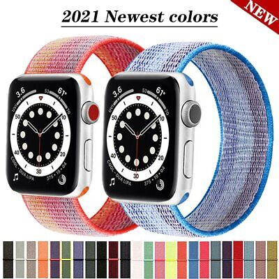 AU5.99 • Buy For Apple Watch IWatch Sports Band Series 7 6 5 4 3 2 1 SE 38mm 40 42mm 44 Strap