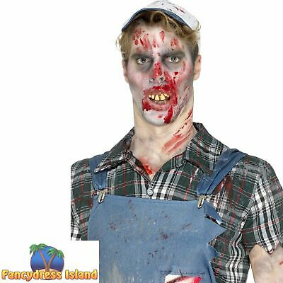 £9.09 • Buy Hillbilly Teeth Brown With Fitting Beads Make Up Halloween Fancy Dress Accessory