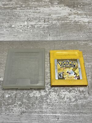 $48 • Buy Pokemon Yellow Special Pikachu Edition (GameBoy) - AUTHENTIC,TESTED,WORKS&SAVES!