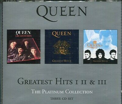 £5 • Buy Queen / Greatest Hits 1, 2 & 3 - The Platinum Collection  3xCD