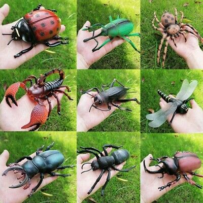 £4.99 • Buy Realistic Fake Bugs Action Figures Model Plastic Insects Ant Spider Kids Toys