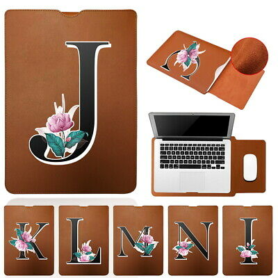 £7.49 • Buy For Apple IPad AIR/Pro-Brown Letter Leather Notebook Carry Pouch Sleeve Case Bag