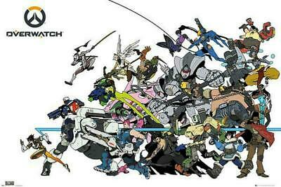 AU14.11 • Buy Overwatch : Battle - Maxi Poster 91.5cm X 61cm New And Sealed