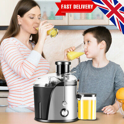 £47.19 • Buy 500ML Electric Juicer Machine Cold Press Fruit & Veg Extractor Blender Stainless