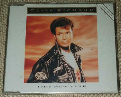 £5.99 • Buy Cliff Richard - This New Year (CD Single, 1991) I Love You & Scarlet Ribbons 12