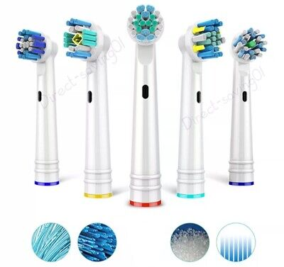 AU5.29 • Buy Replacement Electric Toothbrush Heads Compatible Oral B Tooth Brush Head