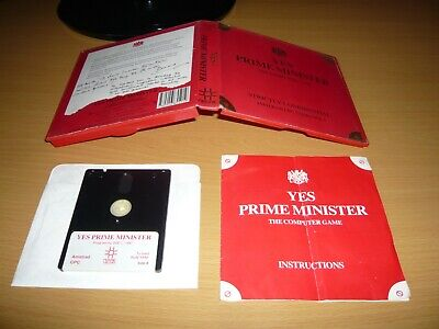 £4.99 • Buy ***amstrad Cpc 464/664/6128 Disk Game Yes Prime Minister By Mosaic Publishing***