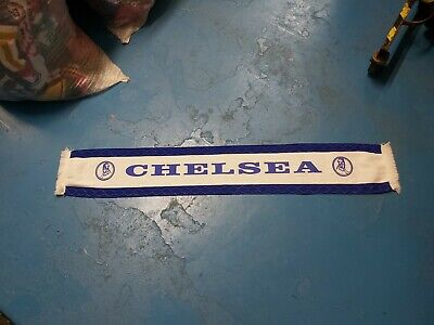 £10 • Buy Vintage Chelsea Football Supporters Scarf