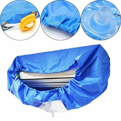 AU28.28 • Buy Air Conditioner Waterproof Cleaning Cover Dust Washing Clean Protector Bags