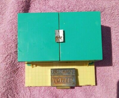 £7.25 • Buy Deluxe Reading 1960s Vtg Kitchen Toy Overhead Cabinet Foil Towel Section Donor