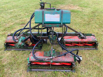 £425 • Buy Ransomes Cylinder Mower,6 Ft,Hydraulic Drive,3 Point Linkage,compact Tractor