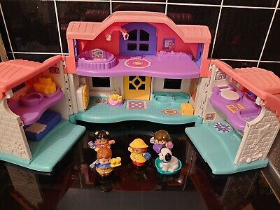 £9.50 • Buy Interactive Fisher Price Little People Sweet Sounds Vintage Dolls House Toy 99p!
