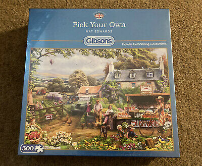 £4.99 • Buy New Pick Your Own Mat Edwards Jigsaw 500 Piece Gibson's Jigsaw Puzzle