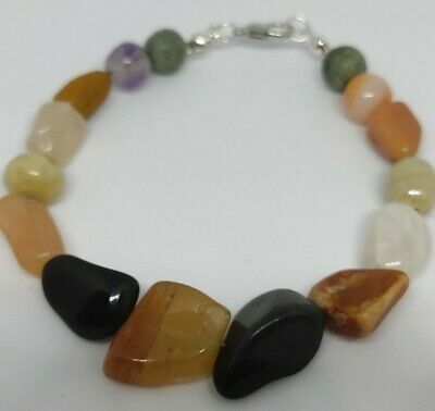 £9.99 • Buy Recycled Agate Clasped Bracelet