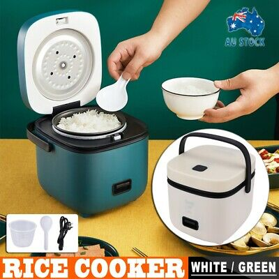 AU45.59 • Buy Mini Electric Rice Cooker 2 Layer 1.2L Portable Small Rice Cooker For 1-2 Person