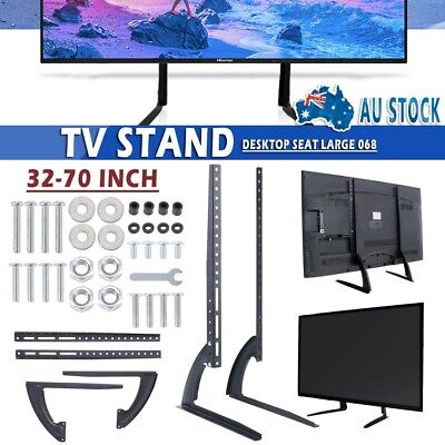 AU24.99 • Buy Universal 32-70  Table Top TV Stand Leg Mount LCD LED Flat TV Screen For Sony LG
