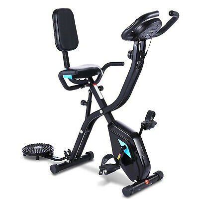 £165.89 • Buy Folding Foldable Upright Exercise Bike Bicycle For Indoor Home Gym Fitness Cycle