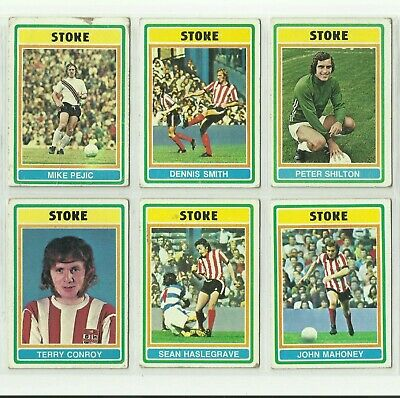 £3.10 • Buy Stoke City Football Club. 6 Good Cards. Topps Chewing Gum 1976. Peter Shilton
