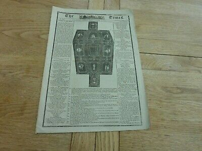 £4.99 • Buy 1806 JAN 10 TIMES NEWSPAPER FUNERAL ADMIRAL NELSON 100th ANNIVERSARY REPRINT