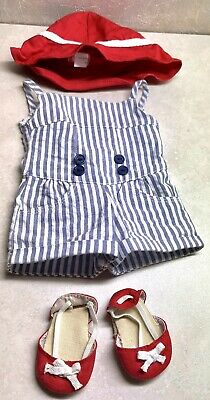 £21.82 • Buy American Girl Doll 18  Clothing/ Accessories- Retired Sea Breeze Outfit