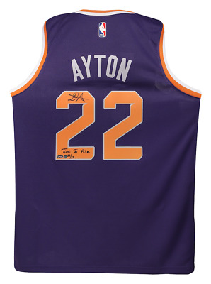 AU599.15 • Buy DEANDRE AYTON Signed & Inscribed  Time To Rise  Swingman Jersey STEINER LE 22
