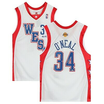 AU778.96 • Buy SHAQUILLE O'NEAL Autographed Los Angeles Lakers 2004 All Star Jersey FANATICS