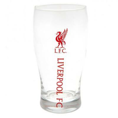 £7.95 • Buy Liverpool FC Tulip Pint Glass Official Licensed Product