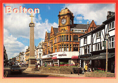 £3.75 • Buy Picture Vintage Postcard: Bolton, View From Churchgate - Free UK Postage.