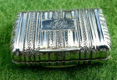 £51 • Buy Very Attractive Little Georgian Silver Vinaigrette - Grill Needs Re-fixing A/f