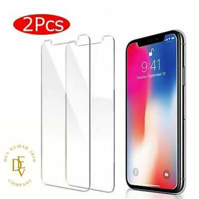 £1.99 • Buy Tempered Glass Screen Protector For IPhone 12 13 11 Pro Max Mini XR X XS MAX