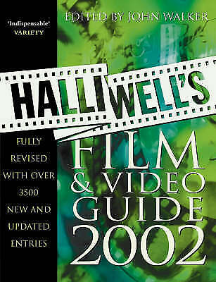 £3.19 • Buy (Good)-Halliwell's Film And Video Guide 2002 (Paperback)--0007122659