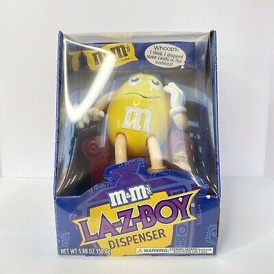 """£28.92 • Buy M&M's MM """"LA-Z-BOY"""" Limited Edition Collectible Chocolate Candy Dispenser 1999"""