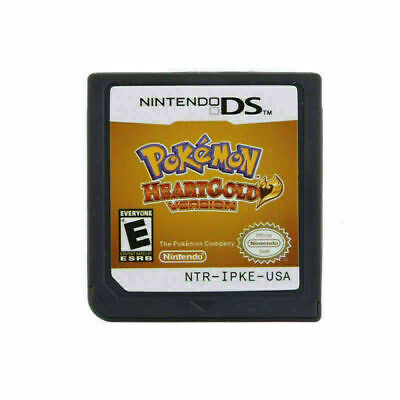 $17.47 • Buy New Game Cartridge Nintendo 3DS NDSI NDS Lite Card Pokemon HeartGold Version US