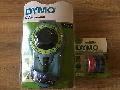 £13.99 • Buy Dymo Junior Embosser With Label 3 Pack - Brand New In Packaging - Free Postage