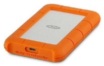 £74.32 • Buy LaCie 1TB Rugged USB 3.1 Type C Portable Hard Drive Drop Resistance STFR1000800