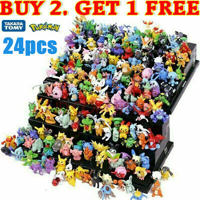 AU12.95 • Buy 2021 Pokemon Pikachu Monster Collectible Action Figures Doll Set Kids Toy Gift