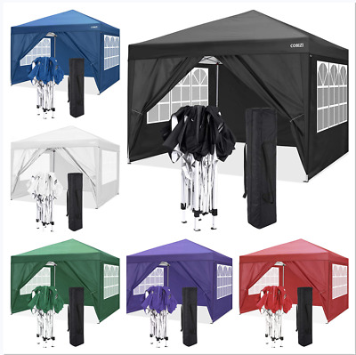 £159.89 • Buy Gazebo Outdoor Marquee Canopy Garden Wedding Party Tent Water-Resistant Pavilion